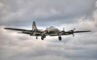 Photograph - Memphis Belle Comes Home by Jeff Cook