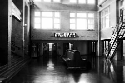 Memphis Central Train Station Original