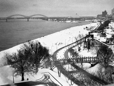 Photograph - Memphis In Snow by Belinda Lee