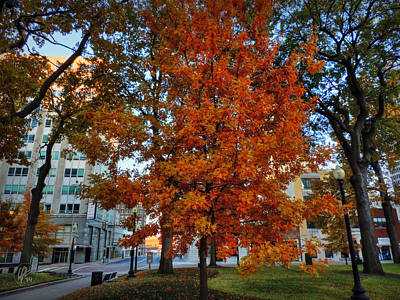 Photograph - Memphis Fall In Court Square 002 by Lance Vaughn