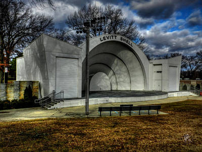 Photograph - Memphis - Levitt Shell 001 by Lance Vaughn
