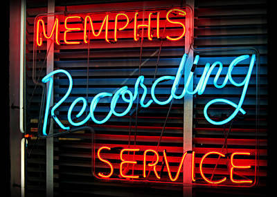 Memphis Recording - Sun Studio Art Print by Stephen Stookey
