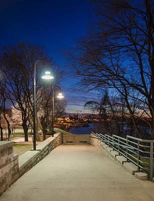 Photograph - Memphis Riverfront by Mark Bowmer