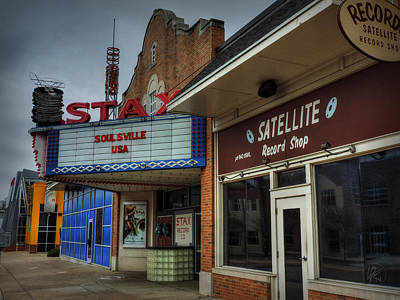 Photograph - Memphis - Stax Records 002 by Lance Vaughn