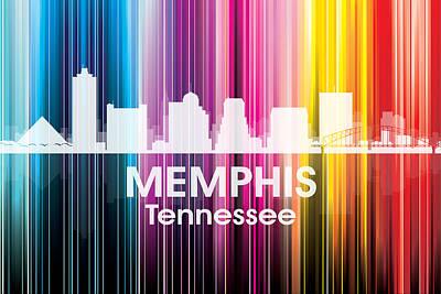 Memphis Tn 2 Art Print