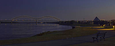 Photograph - Memphis Waterfront by Barry Jones
