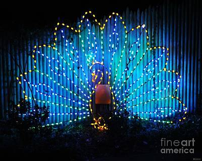 Photograph - Memphis Zoo Lights by Lizi Beard-Ward