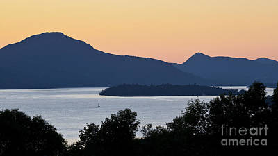 Photograph - Memphremagog Twilight by Alan L Graham