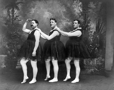Location Art Photograph - Men In Tights And Tutus by -