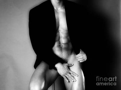 Photograph - Men Nude by Boon Mee