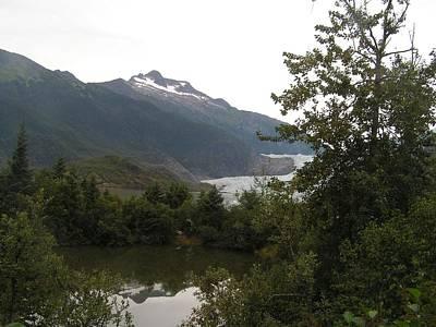 Mendenhall Glacier Painting - Mendenhall Glacier 2. Alaska by Annika Farmer