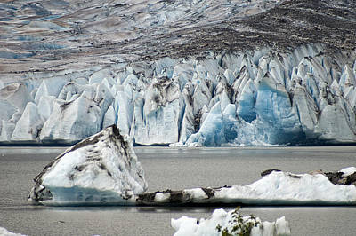 Photograph - Mendenhall Glacier 2 by Wayne Meyer