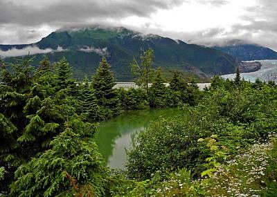 Photograph - Mendenhall Glacier And Lake by Kirsten Giving
