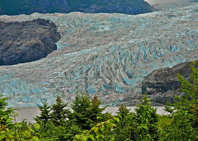 Photograph - Mendenhall Glacier Terminus by Kirsten Giving