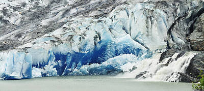 Photograph - Mendenhall Glacier by Walt Sterneman