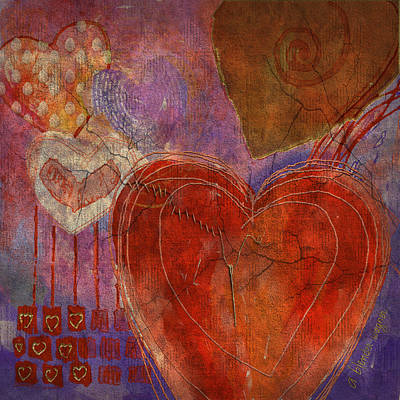 Digital Art - Mending A Broken Heart by Arline Wagner