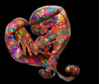 Hands Mixed Media - Mending Heart by Alyssa Zuercher