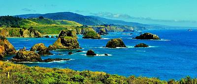 Photograph - Mendocino Coast by Benjamin Yeager