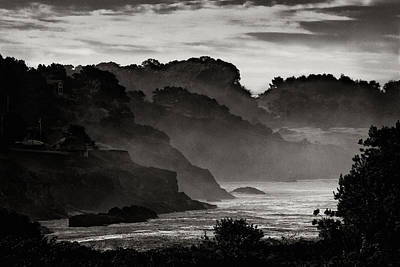 Photograph - Mendocino Coastline by Robert Woodward