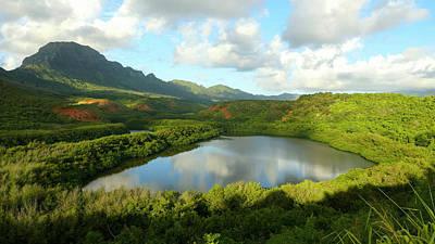 Menehune Fish Pond, Kauai, Hawaii Art Print