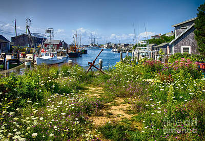 Photograph - Menemsha by Mark Miller