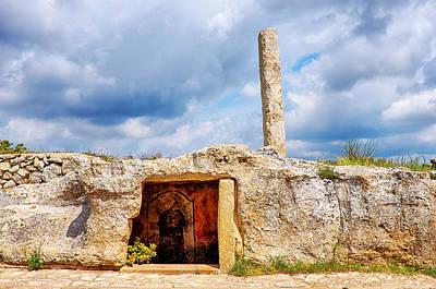 Photograph - Menhir Di San Paolo by Fabrizio Troiani