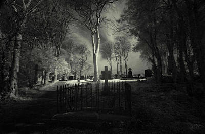 Photograph - Menlo Cemetery by Peter Skelton