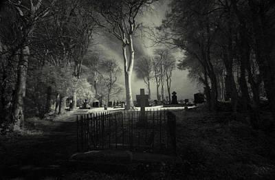 Menlo Cemetery Art Print by Peter Skelton