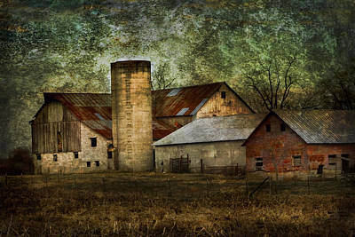 Mennonite Farm In Tennessee Usa Art Print by Kathy Clark