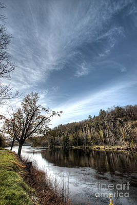 Wisconsin Photograph - Menominee River Wisconsin by Deborah Smolinske