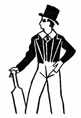 Batter Painting - Men's Fashion, 1830s by Granger