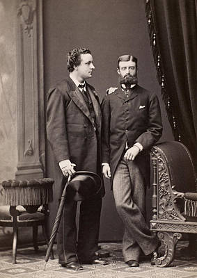 1880s Photograph - Men's Fashion, 1880s by Granger