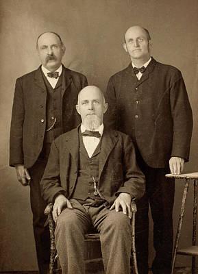 Lapel Photograph - Men's Fashion, C1895 by Granger