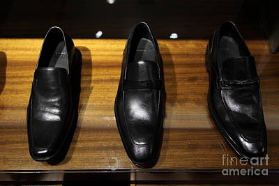 Mens Shoe Photograph - Men's Shoes - 5d20646 by Wingsdomain Art and Photography
