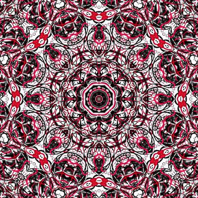 Dots And Lines Digital Art - Mental Graffiti by Shawna Rowe