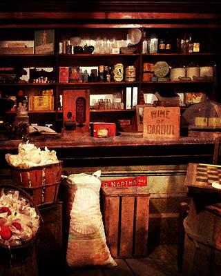 Photograph - Mercantile by Timothy Bulone