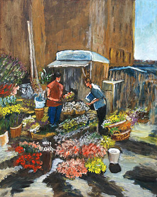 Mercato Art Print by Niki Mastromonaco