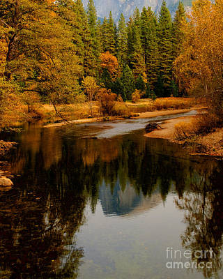 Photograph - Merced River And Half Dome 2 by Terry Garvin