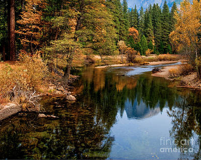 Photograph - Merced River And Half Dome by Terry Garvin