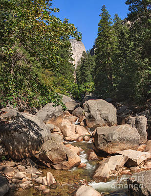 Photograph - Merced River Cascades by Charles Kozierok