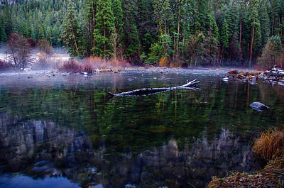 Merced River Riverscape Print by Scott McGuire