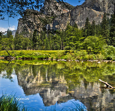 Photograph - Merced River Yosmite by LeeAnn McLaneGoetz McLaneGoetzStudioLLCcom