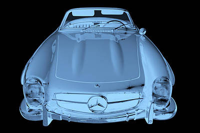 Photograph - Mercedes Benz 300 Sl Convertible Modern Art by Keith Webber Jr