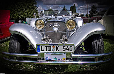 Photograph - Mercedes Benz 540k Roadster by Thom Zehrfeld