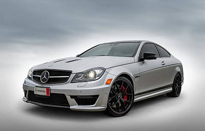Automotive Digital Art - Mercedes Benz Amg C63 Edition 507 by Douglas Pittman
