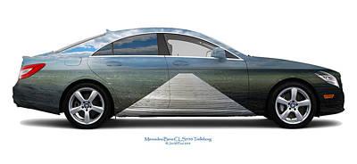 Mercedes-benz Cls550 Trelleborg Art Print by Jan W Faul