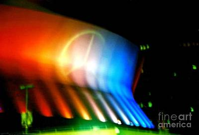 Photograph - Louisiana Superdome Mercedes Benz  In New Orleans Louisiana by Michael Hoard
