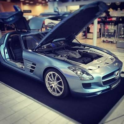 Sexy Wall Art - Photograph - Mercedes Benz World #mercedes #benz by Maxx Parker