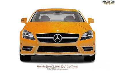 Photograph - Mercedes Cls Eye Taxiway by Art Faul