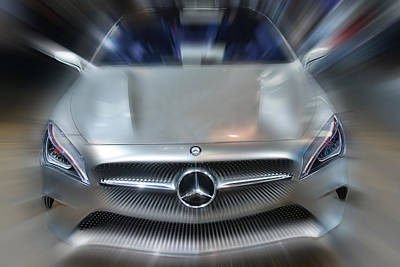 Photograph - Mercedes Concept 2013 by Dragan Kudjerski